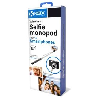 Bežični selfie stick ili štap monopod, bluetooth, crni KSIX