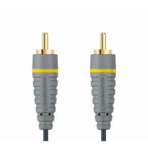 Kompozitni video kabel RCA - RCA, 1 m, Bandridge BVL5001