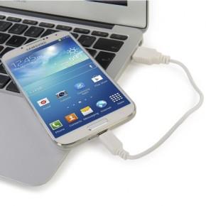 Prijenosna baterija za mobitel 1500mAh, bijela, Tucano Tucard