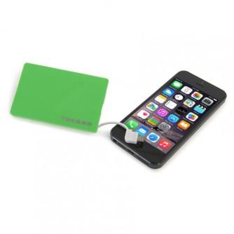 Prijenosna baterija za mobitel 1500mAh, zelena, Tucano Tucard