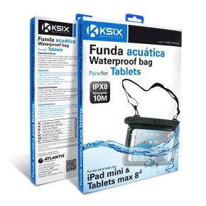"""Vodootporna univerzalna torbica za tablete do 8"""" KSIX"""