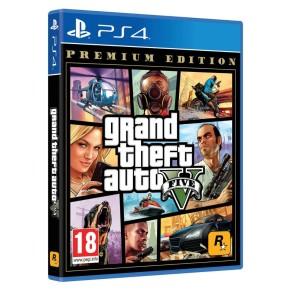 Igra za Sony Playstation 4 PS4 Grand Theft Auto V GTA V Premium Edition