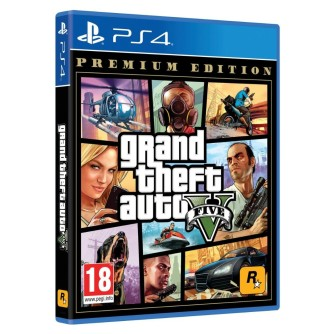 Igra za Sony Playstation 4 PS4 Grand Theft Auto V GTA V Premium Edition