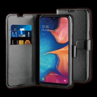 Preklopna torbica za Samsung Galaxy A20E, crna, BeHello
