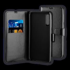 Preklopna torbica za Samsung Galaxy A50/A50S/A30S, crna, BeHello