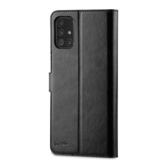 Preklopna torbica za Samsung Galaxy A71, crna, BeHello