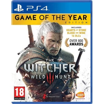 Igra za Sony Playstation 4 The Witcher 3: Wild Hunt GOTY PS4