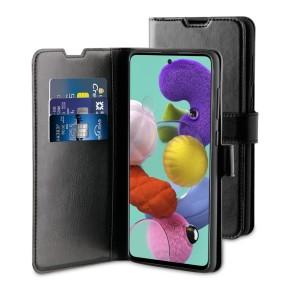 Preklopna torbica za Samsung Galaxy A51, crna, BeHello