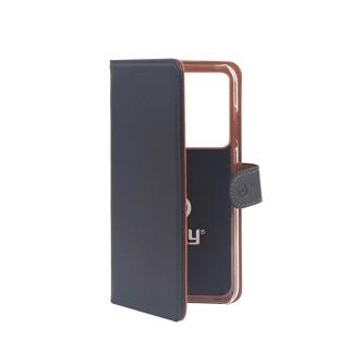 Preklopna torbica za Samsung S20 Ultra, crna, Celly Wally