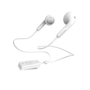 Bluetooth slušalice sa mikrofonom, bijele, Defunc Earbud Plus Talk