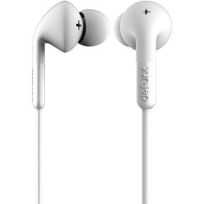 Slušalice sa mikrofonom, bijele, Defunc Earbud Plus Music