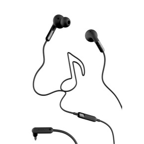 Slušalice sa mikrofonom, crne, Defunc Earbud Plus Music