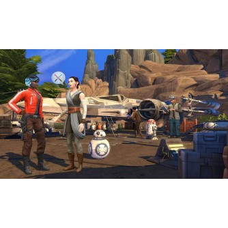 Igra za Sony Playstation 4 The Sims 4 Game Pack 9: Star Wars - Journey to Batuu PS4