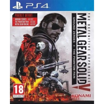 Igra za Sony Playstation 4 Metal Gear Solid Definitive Experience PS4