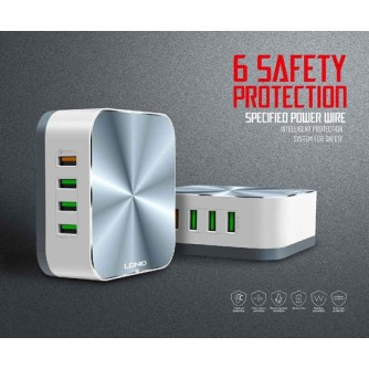 Desktop USB punjač, hub, sa 8 portova  5V/10A/50W LDNIO