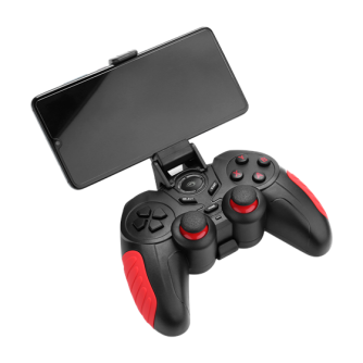Gamepad MARVO Scorpion GT-60, bežični, za PC/Android, crni/crveni