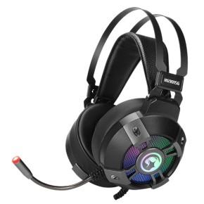 Gaming slušalice MARVO SCORPION HG9015G, mikrofon, LED, 7.1 Surround Sound, PC/PS4/PS5, crne