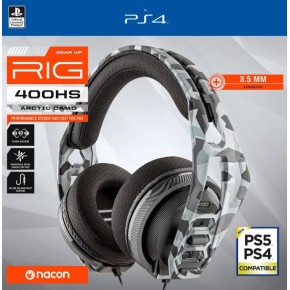 Gaming slušalice Nacon RIG 400HS Artic Cammo za Playstation 4 PS4 PS5