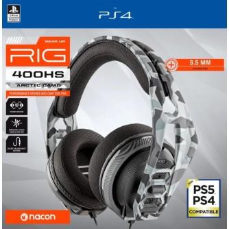 Gaming slušalice Nacon RIG 400HS Artic Cammo za Playstation 4 PS4 PS5