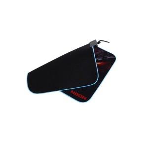 Gaming podloga za miš NEON NESTOR, 350x250x3 mm, RGB