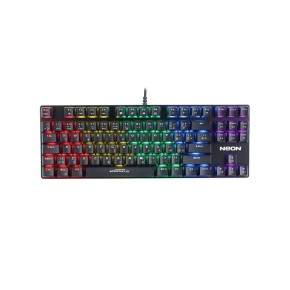 Gaming tipkovnica NEON MORPHEUS, žična, backlight, rainbow, metal
