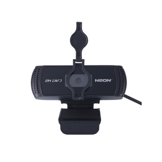 Web kamera NEON HYPERION 5MP, 2K, 1080p, USB, integrirani mikrofon, 30 fps, crna