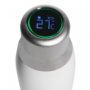 Pametna boca s LCD ekranom bijela Puro Smart