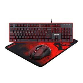 Gaming set tipkovnica, miš i podloga Redragon S107
