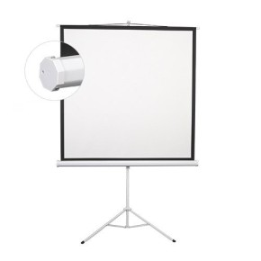 Platno za projektor 240x240 cm sa stalkom SBOX PSMT-135 Tripod