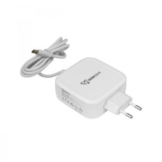 Punjač za laptop, tablet, mobitel USB TIP C, SBOX TC-65W
