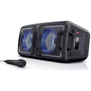 Party zvučnik SHARP PARTY PS-920 (140W, 2xUSB, Bluetooth, FM, 2xMIC, AUX in, ugrađena baterija)