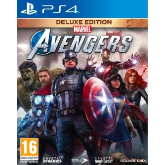Igra za Sony Playstation 4 Marvel's Avengers Deluxe Edition Day 1 PS4