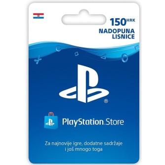 Prepaid bon za PlayStation Live Cards Hanger HRK150