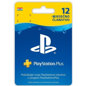 Pretplata, članstvo PlayStation Plus Card 365 Days Hanger PS3 PS4