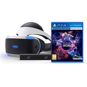 VR naočale SONY PlayStation 4 PS4 VR + VR Worlds VCH + Camera v2/PSVR Mk4