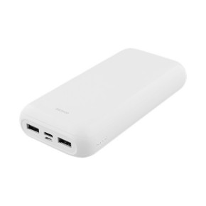 Prijenosna baterija Powerbank DELTACO PB-1066, 20.000 mAh, bijeli