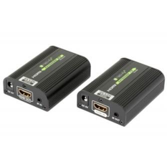 HDMI extender 4K-60Hz do 30m,  4K-30Hz do 60m Techly