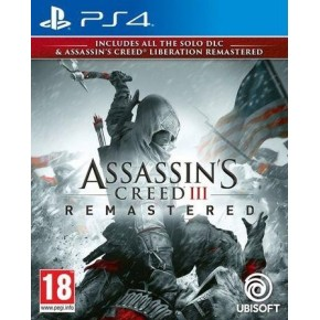 Igra za Sony Playstation 4 Assassin's Creed 3 & AC Liberation HD Remaster PS4