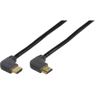 Kabel HDMI VIVANCO 47107, High Speed with Ethernet, 3m, kutni