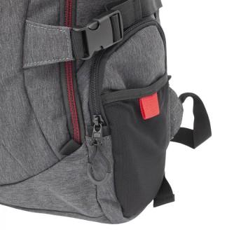 """Gaming ruksak za laptop 17,3"""" White Shark Night Rider GBP-008"""