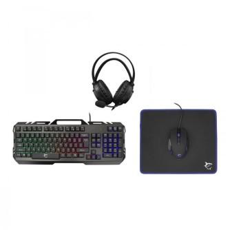 Gaming set tipkovnica, miš, podloga i slušalice White Shark GC-4103 CHEYENNE