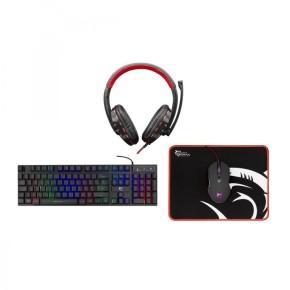 Gaming set tipkovnica, miš, podloga i slušalice White Shark GC-4104 COMANCHE-3