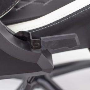 Gaming stolica, crno-bijela, White Shark NITRO GT
