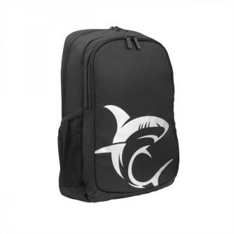 """Ruksak za laptop do 15,6"""", crno-srebrni, White Shark Scout GBP-006"""