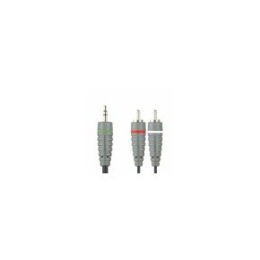 Audio kabel 3.5 mm na 2xRCA, 10 m Bandridge BAL3410