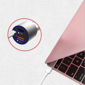 Auto punjač sa USB-C i USB-A, Adonit Power Delivery