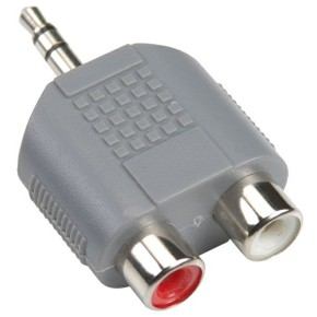 Bandridge BAP432, audio adapter 3.5mm m - 2XRCA ž