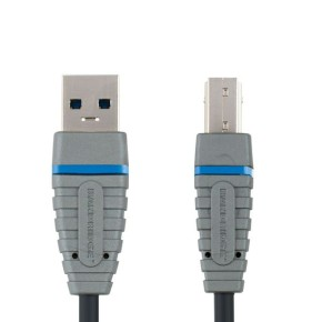 Bandridge BCL5101, USB 3.0 kabel A-B, 1.0m