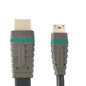 Bandridge BVL1502, mini HDMI kabel, 2 m