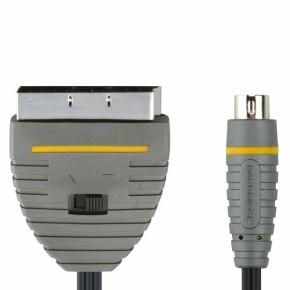 Bandridge BVL6102, S-Video - Skart kabel, 2 m